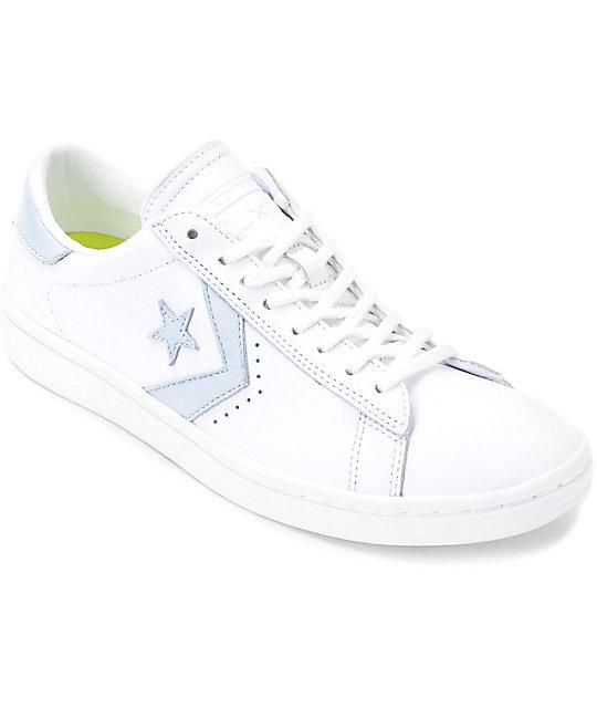 converse womens. converse pl lp ox white \u0026 porpoise womens leather shoes