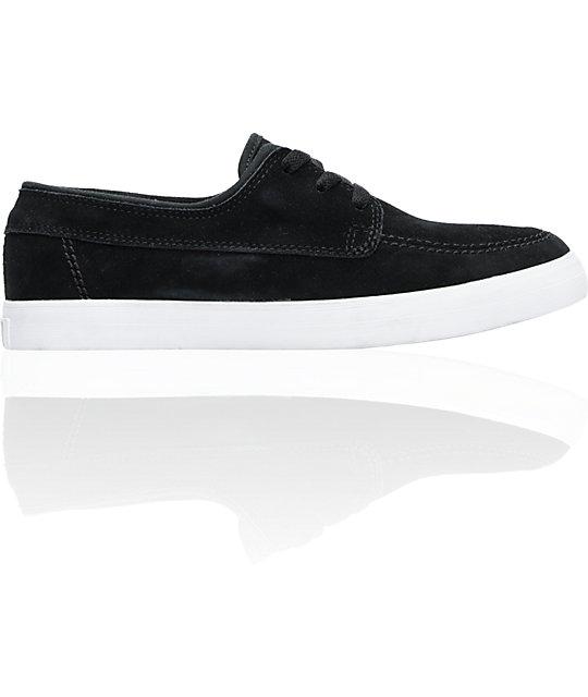 Converse Sea Star LS Black & White Shoes