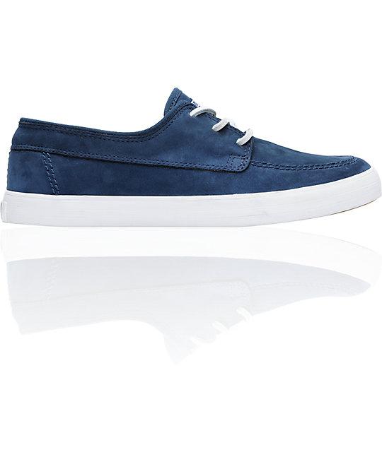 Converse Sea Star LS Dress Blue & White Skate Shoes