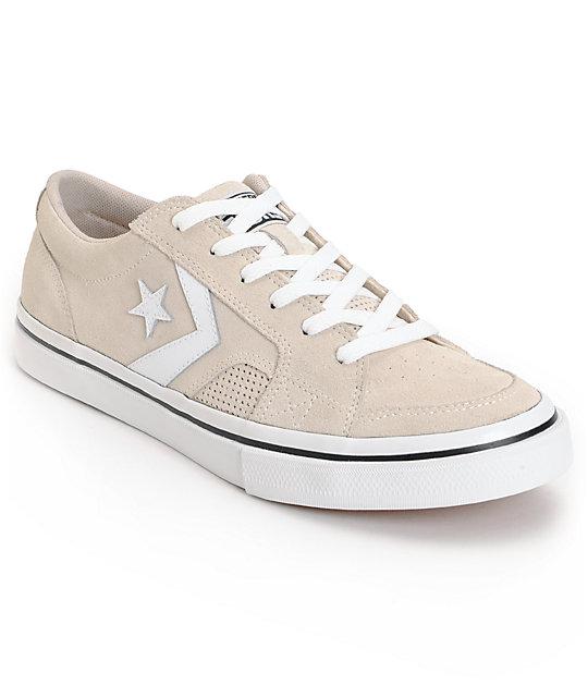 Converse Tobin Whitecap Grey & Black Skate Shoes