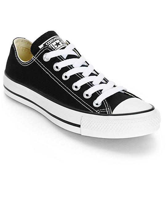 converse s chuck all black shoes at