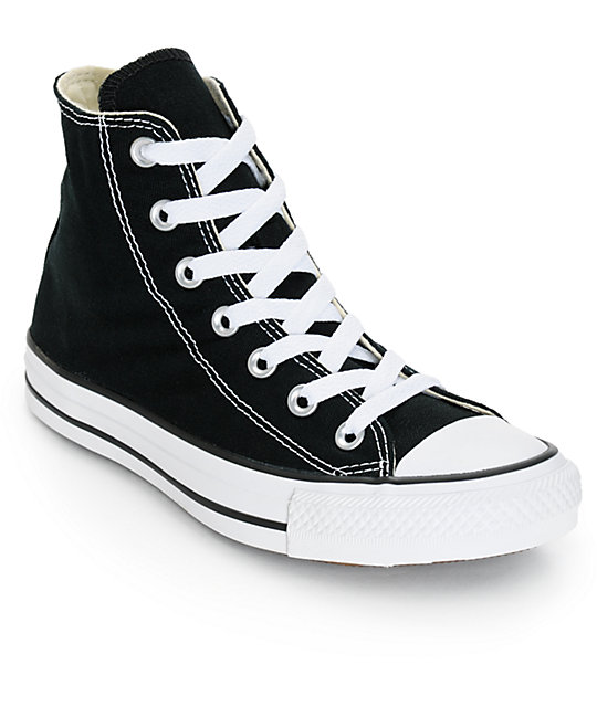 converse shoes black high top. converse womens chuck taylor all star black high top shoes i