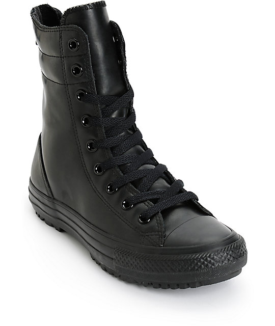 Womens Chuck Taylor All Star Hi-Rise Rubber Boots