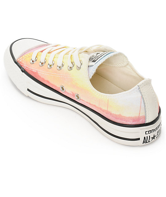 Converse Womens Chuck Taylor All Star Photo Real Sunset Shoes