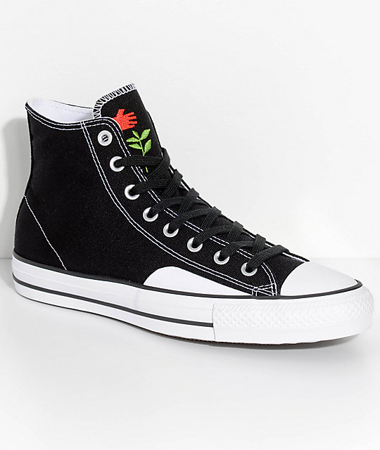 converse shoes black and white. converse x chocolate ctas pro black \u0026 white skate shoes and