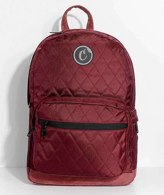 Shoptagr   Cookies 1680 Quilted Burgundy Backpack by Cookies a5d4a690da
