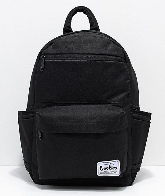 Cookies Fundamental Black Backpack
