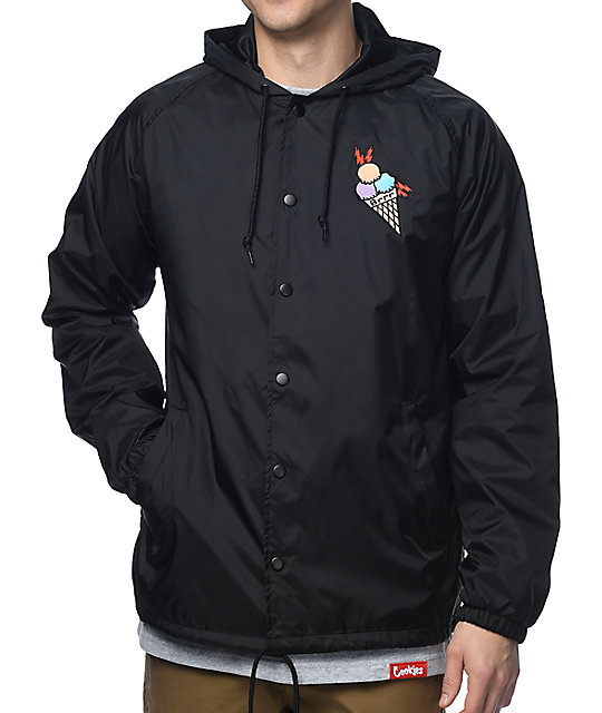 Cookies x Wizop Black Coaches Jacket | Zumiez