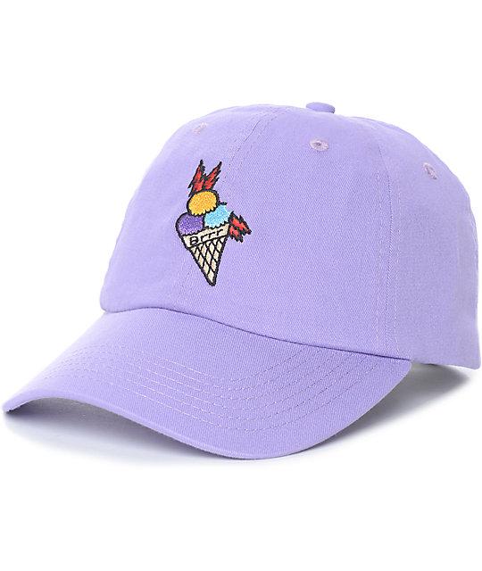 Cookies x Wizop Flava Cone Purple Strapback Hat