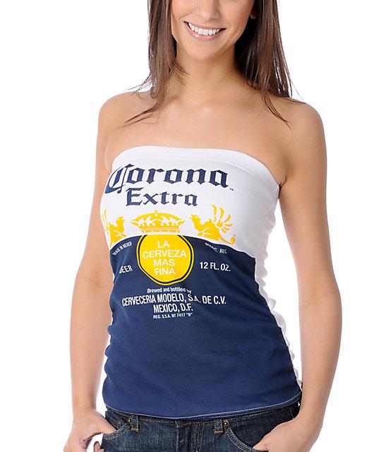 Corona Swim Corona Extra Tube Top
