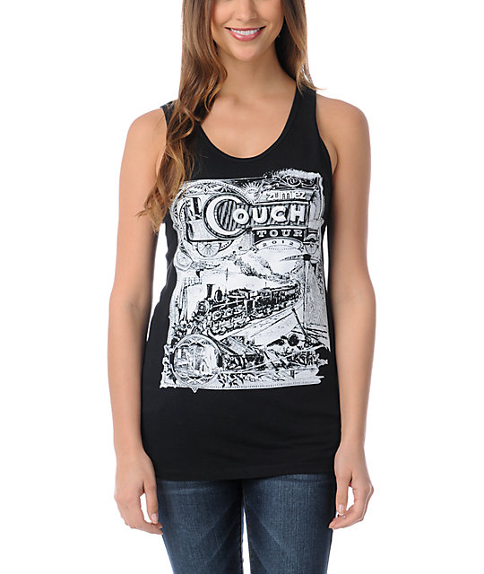 Couch Tour Black Concert Tank Top