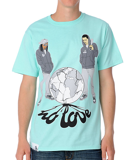 Counter Balance Drop The Love Teal T-Shirt