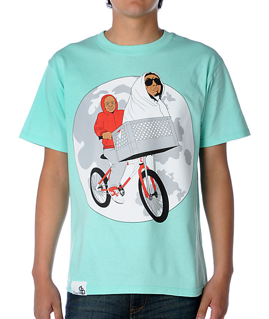 Counter balance phone home teal t shirt for Boys teal t shirt
