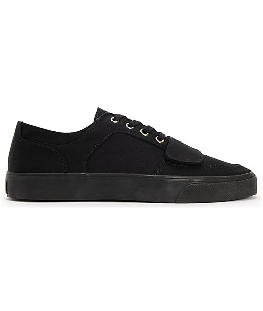 Creative Recreation Cesario Low XVI Black Canvas Shoes