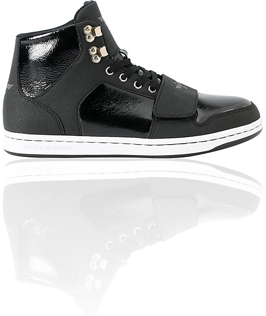 Creative Recreation Cesario XVI High Top Black Ballistic Shoes
