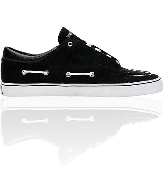 Creative Recreation Luchese Black Canvas Shoes