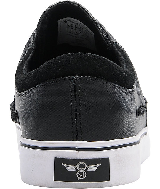 Creative Recreation Luchese Black Tarpaulin Skate Shoes