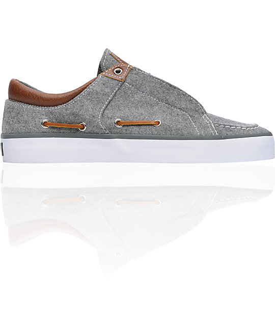 Creative Recreation Luchese Grey Wool Shoes