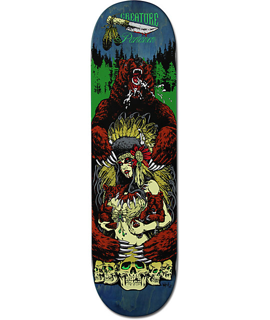 "Creature Al Partanen Badlands 8.6""  Skateboard Deck"