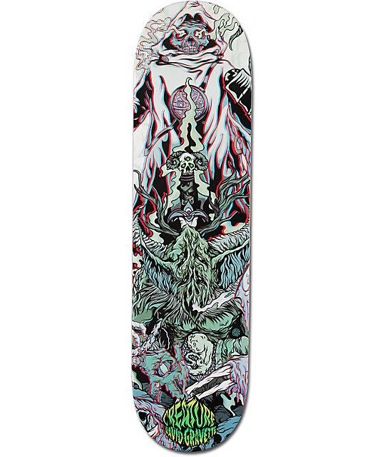 "Creature Gravette Ritual 3D 8.2""  Skateboard Deck"