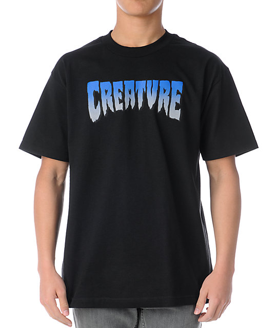 Creature Green Black T-Shirt