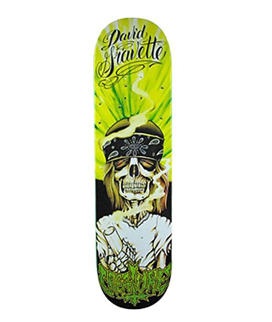 "Creature Hippie Skull Gravette 8""  Skateboard Deck"