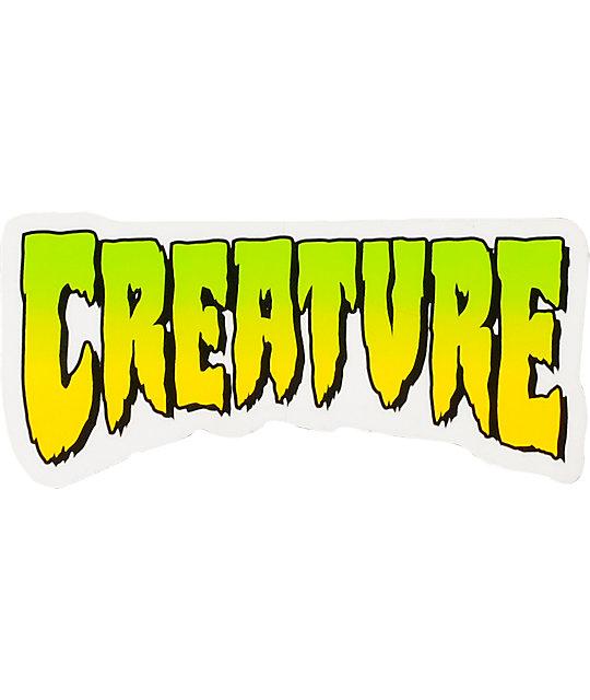 Creature Logo 4 Sticker