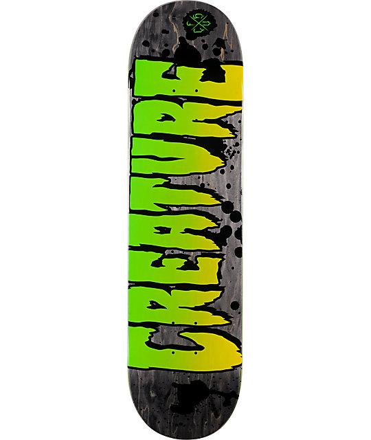 "Creature Logo Stain 8.26""  Skateboard Deck"