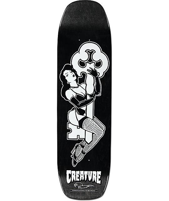 "Creature Navarrette Keyholder 8.8""  Skateboard Deck"