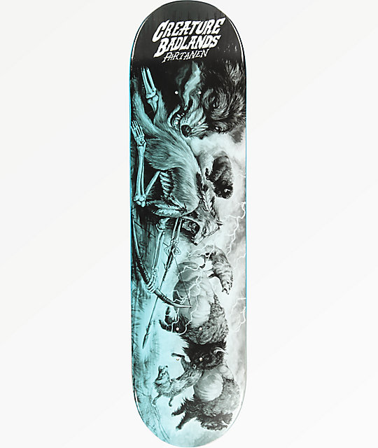 "Creature Partanen Badlands 8.1"" Skateboard Deck"