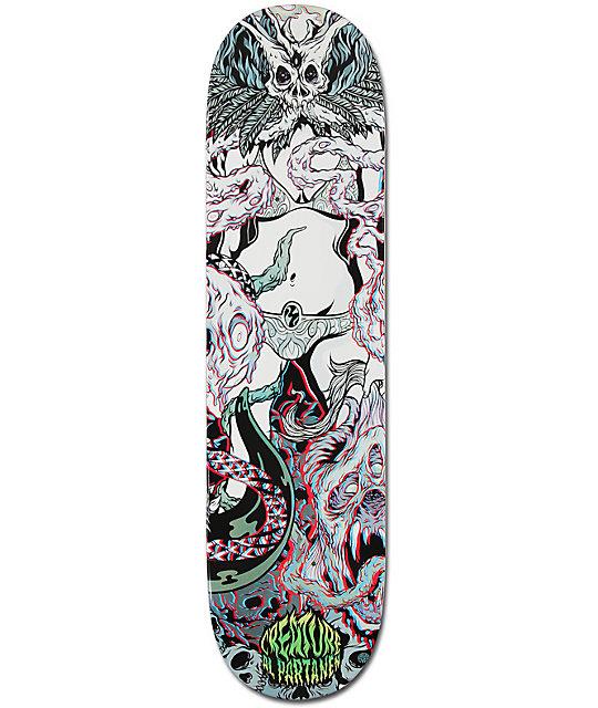 """Creature Partanen Ritual 3D 8.1""""  Skateboard Deck"""