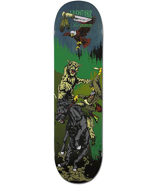 "Creature Taylor Bingaman Badlands 8.375""  Skateboard Deck"