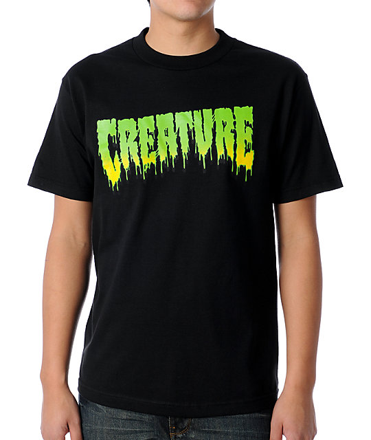 Creature Toxic Black T-Shirt