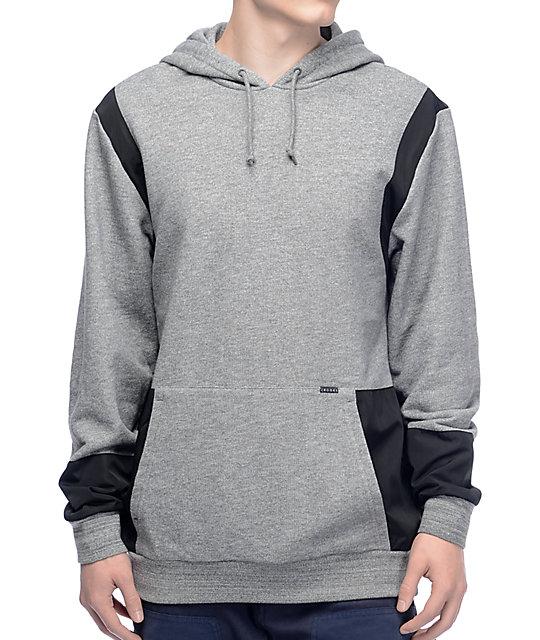Crooks & Castles Challenger Speckle Grey Pullover Hoodie