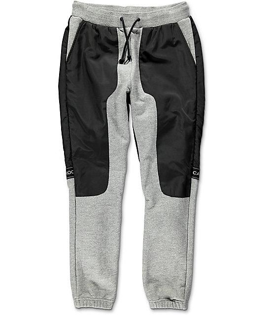 Crooks & Castles Challenger Speckle Grey Sweatpants