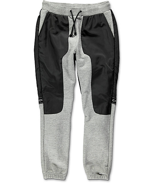 Crooks & Castles Challenger Speckle pantalones deportivos en gris