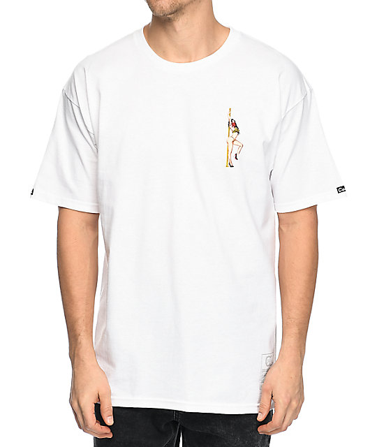 Crooks & Castles Get Paid White T-Shirt