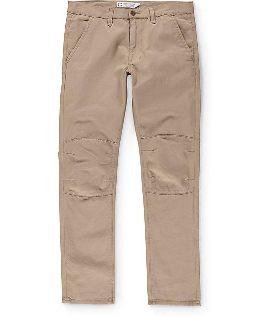 Crooks & Castles Mileage Utility Khaki Pants