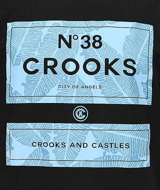 Crooks & Castles Coca Cab N38 Black T-Shirt