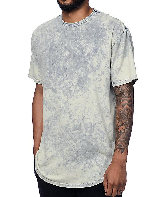 Crooks & Castles Overdyed Black & White T-Shirt