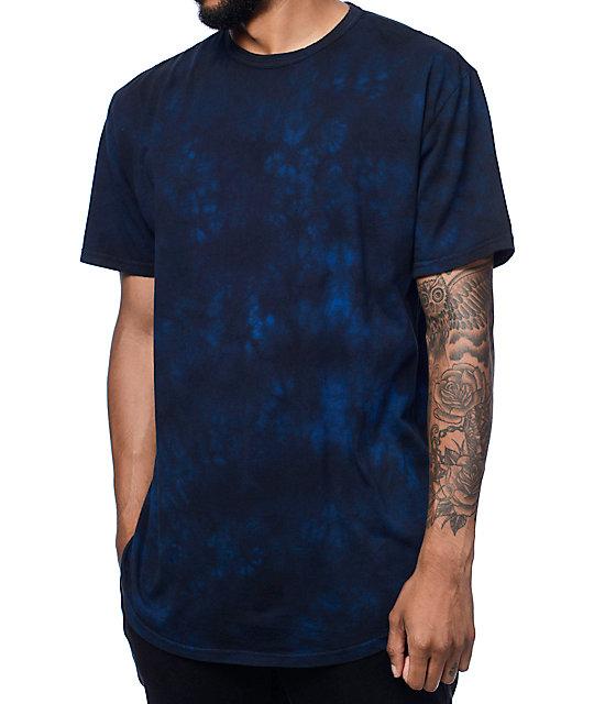 Crooks & Castles Overdyed Navy T-Shirt