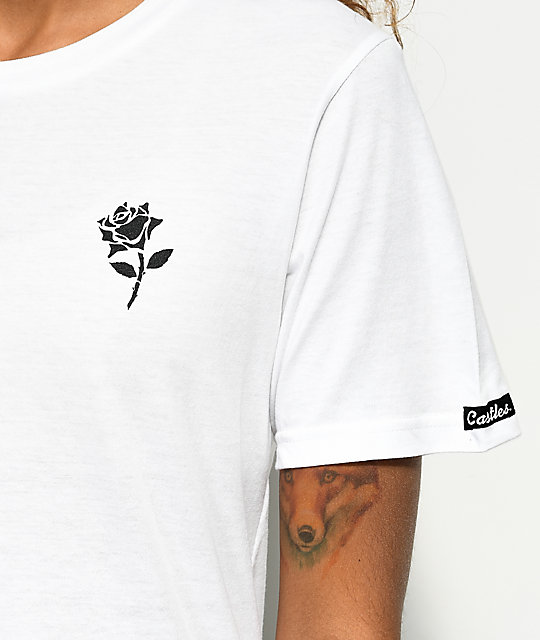 Crooks & Castles Pay Tribute White T-Shirt