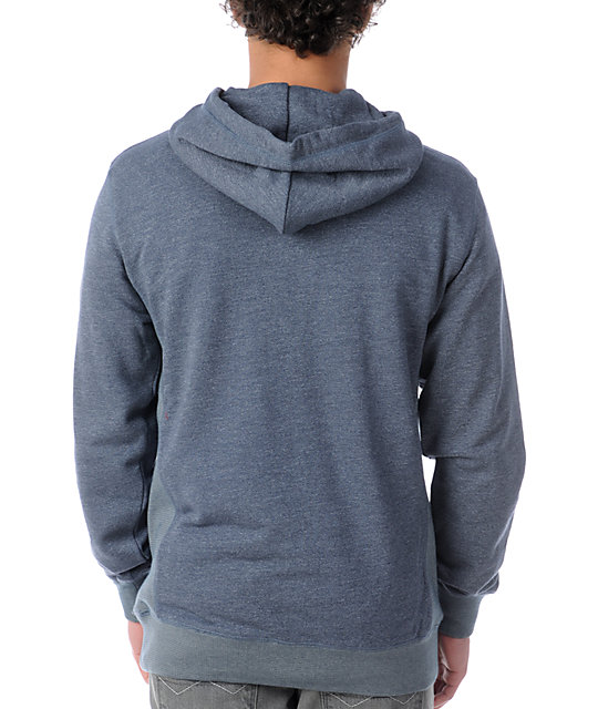 Crooks and Castles Air Gun Navy Pullover Hoodie