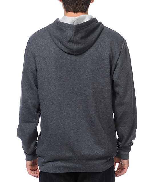 Crooks and Castles Ammo Flag Charcoal Pullover Hoodie