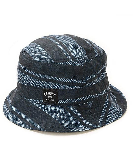 Crooks and Castles Baja Clifas Bucket Hat