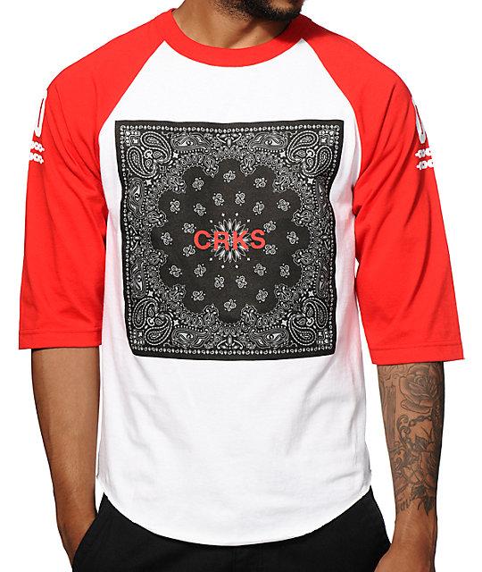 Crooks and Castles Bandit Block Baseball T-Shirt