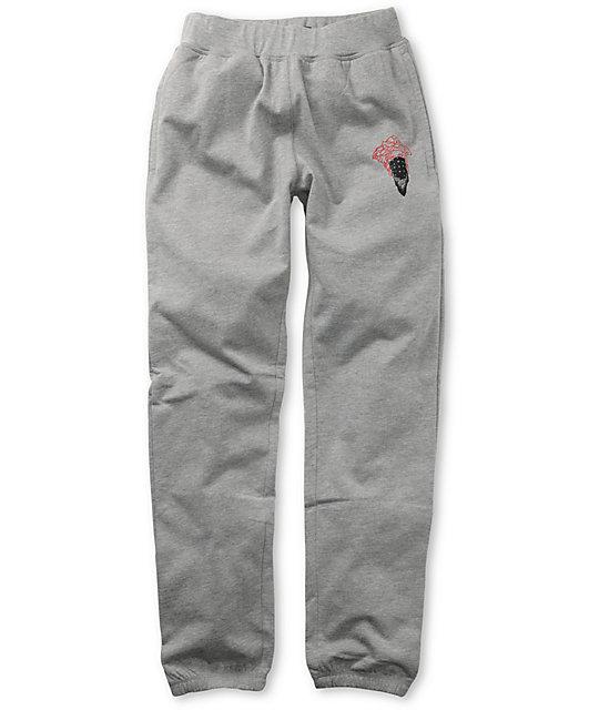 Crooks and Castles Bandito Grey Sweatpants