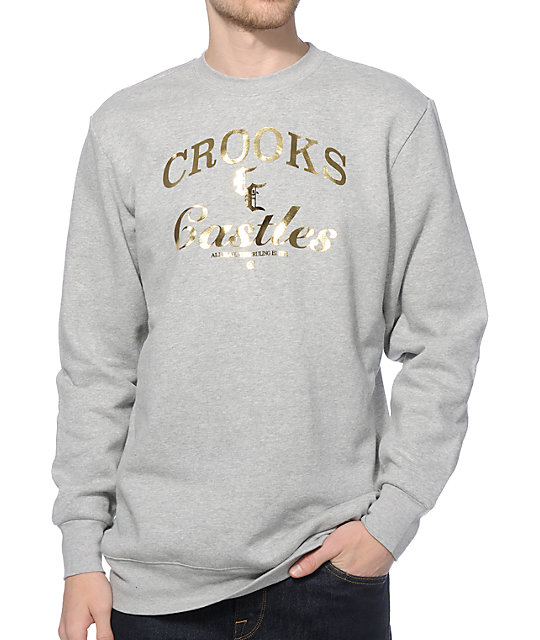 Crooks and Castles C&C Crew Neck Sweatshirt