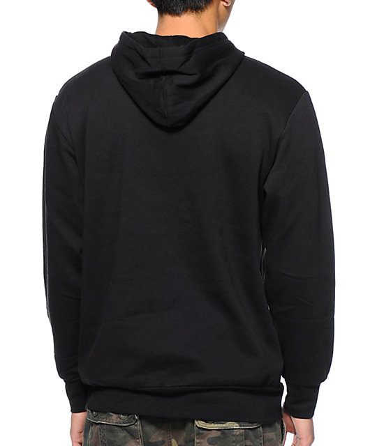 Crooks and Castles Cash Rules Black Pullover Hoodie