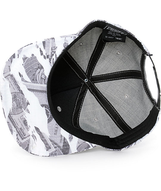 Crooks and Castles Currency Snapback Hat